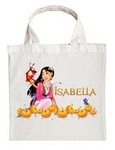 Mulan Trick or Treat Bag - Personalized Mulan Halloween Bag - $11.99+