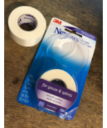 Nexcare Durable Cloth First Aid Tape, Tears Easily, 2 Rolls - $11.87