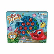 Pressman 58 Let's Go Fishin' Combo Game, Includes Go Fish Card Game - $36.65