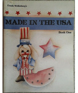 Made In The USA Book One By Ursula Wollenberg Tole Painting Book Patriot... - $9.98