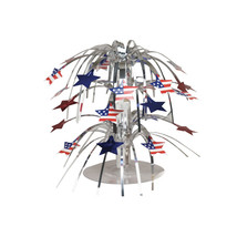 8.5 inch Mini Cascade Centerpiece Stars/Case of 12 - £31.09 GBP