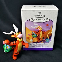 Hallmark Keepsake Ornament Tiggerific Easter Delivery Tigger 1999 - $9.88