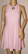 Derek Heart Women's Pink Crochet Back Trapeze Dress Size: M