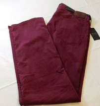 Polo Ralph Lauren The Prospect Straight 36 X 34 Red (berry) pants 710688307012 - $50.78