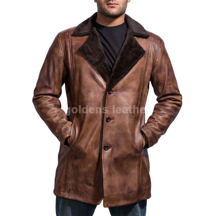 New Men's Stylish Lambskin Genuine Leather Motorcycle Biker Slim Fit Jacket GN35