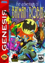The Adventures of Batman and Robin SEGA GENESIS Video Game - $30.97