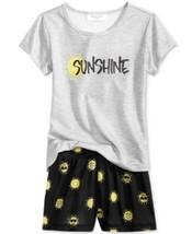 Family Pajamas Sunshine Top and Boxer Shorts Pajama Set Size 4-5 yrs - $11.70