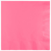3 Ply Lunch Napkins Candy Pink/Case of 500 - £31.45 GBP