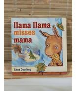 Llama Llama Misses Mama by Anna Dewdney (English) Board Books Young Kids... - $7.91
