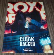 Marvel Comics CLOAK AND DAGGER NEW YORK COMIC CON EXCLUSIVE PROMO POSTER - $14.85