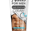 Nad's For Men Hair Removal Cream, 6.8 oz. Smooth Skin Chest Arms Legs Privates