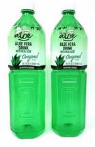 Grace Aloe Vera Drink with Real Aloe Original Flavor 50.7fl.oz, 2 Pack - $22.26