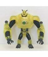 """Ben 10 Clear Ultimate Armodrillo 4"""" Action Figure 2010 Bandai Used No Tail - $20.00"""