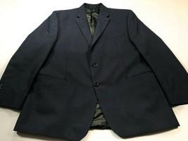 Chaps Blazer 46R Blue Check Sport Coat Jacket 46 Regular - $49.99