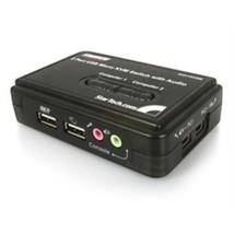 StarTech Network SV211KUSB USB 2-Port USB KVM Switch Kit with Audio and ... - $61.19