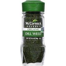 McCormick Gourmet Organic Dill Weed, 0.5 oz - $14.84