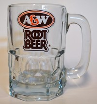 A&W Root Beer ~ Glass Cup Mug Stein ~ HTF - $34.95