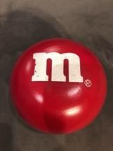 M&M Big Red Ceramic Candy Dish/ Trinket Box! Collectible! Vintage - $11.00