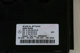 Mercedes Signal Acquisition Module SAM REAR A1645409262 Delphi 28056037 image 4