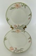Oneida Fine Porcelain Savannah Two Dinner Plates Magnolias The Select Co... - $24.63