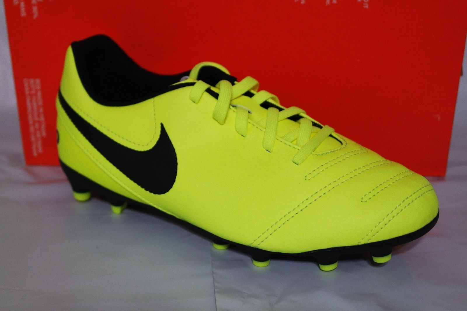 d37bf1021 Nike Jr Tiempo Rio Iii Fg Kids Soccer Shoes