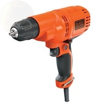 Black & Decker Dr260C 5.2-Amp Drill/Driver 3/8-Inch New Free Shipping - $87.66