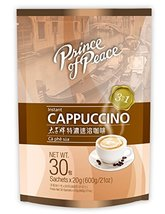 Prince of Peace 3 in 1 Instant Cappuccino (30 Sachets) - $11.87