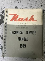 1949 Nash 600 Ambassador 6 Series Technical Service Repair Shop Manual NEW - $59.35