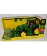 John Deere LP51314 Big Farm Tractor With Mover Round Bale Lights Sounds - $44.99