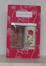 Crabtree Evelyn Duo Rosewater Gift Set Body Lotion Bath Shower Gel 8.5 f... - $32.66