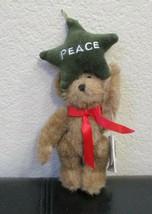 "Boyds P.B. Starcatcher Peace Ornament Bear 8"" - $7.91"