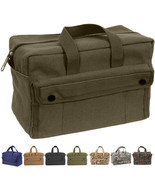 Heavy Duty Canvas Tool Bag Carry Tote Supplies Mechanics Work Military T... - $16.99