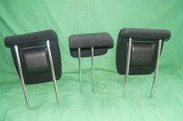 10-14 Honda Insight Rear Seat Cloth Headrests Head Rests Set image 4