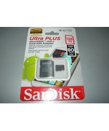 New SanDisk Ultra PLUS microSDXC UHS-I Card 128 GB - $53.56