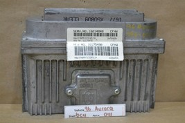 1996-1999 Oldsmobile Aurora Engine Control Unit ECU 16214848 Module 41 6C4 - $9.89