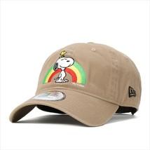 New Era Peanuts collaboration cap Resize 9FIFTY SNOOPY SNOOPY RAINBOW Khaki - $75.99