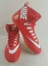Nike Men Force Savage Pro TD Promo Red Football Cleats 918346 616 Size 16 - $26.95