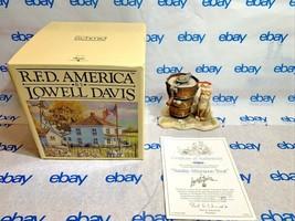 "Lowell Davis ""Sunday Afternoon Treat"" Figurine  1989 599/5000 Schmid COA IOB Cat - $106.41"