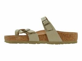 Birkenstock Mayari Faded Khaki Women's Ankle Strap Sandals 1018486 - $89.00
