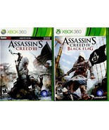 Xbox 360 Assassin's Creed 2 Volumes AC III and AC IV Black Flag - $12.99