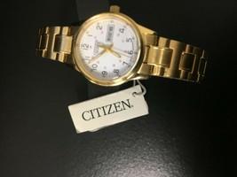 Citizen Easy Reader Analog White Dial Women's Watch EQ0582-90A C10 - $49.49