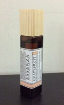 Essenza Roll On Essential Oil Grapefruit 0.33 Oz New Without Box - $7.13