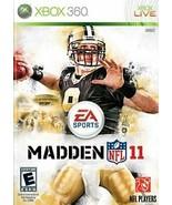 Madden NFL 11 - Xbox 360 - $8.90