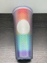 Starbucks 2020 Rainbow Pride Limited Edition Studded Cold Cup Tumbler - $45.49