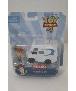 Toy Story 4 - Disney Pixar - Minis - Woody & RV Figures - $15.79