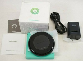 NEW RavPower Alpha Wireless Charger Charging Pad RP-PC034 for iPhone galaxy - $7.99