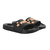 Sophia Webster X Puma Black Orange Rubber Leadcat Slide Sandals 6.5 NIB - $73.76