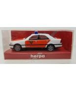 MB C 200 Feuerwe Police Herpa 1998 043977 1:87 Vintage - $9.89
