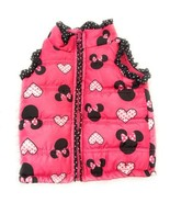 Disney Children's Coat Jacket Baby 12 months Pink Color Minnie Mouse Zipper - $16.20