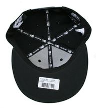 Famous Stars & Straps x Flymode Black Major League New Era Snapback Baseball Hat image 8